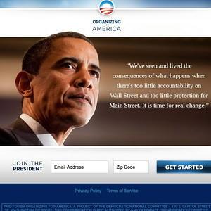Obamas hemsida Wall-Street-reform