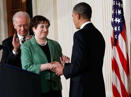 Elena Kagan nomineras av Obama