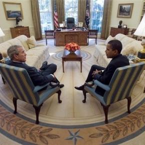 Obamas likheter med George W. Bush.