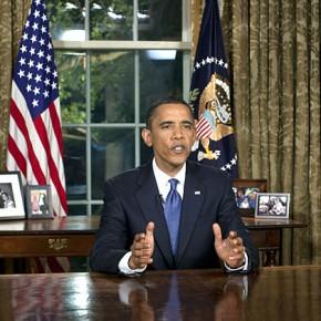 Reaktioner på Obamas tal till nationen.