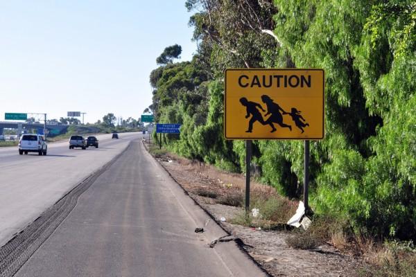 Gränsen mellan USA och Mexiko