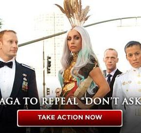 Gay i försvaret: Lady Gaga vs Senaten.