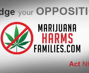 Kaliforninen röstar om marijuana: Kampanjfilmer