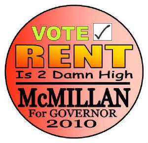 McMillan Rent is Too Damn High