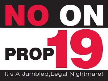 No on prop 19
