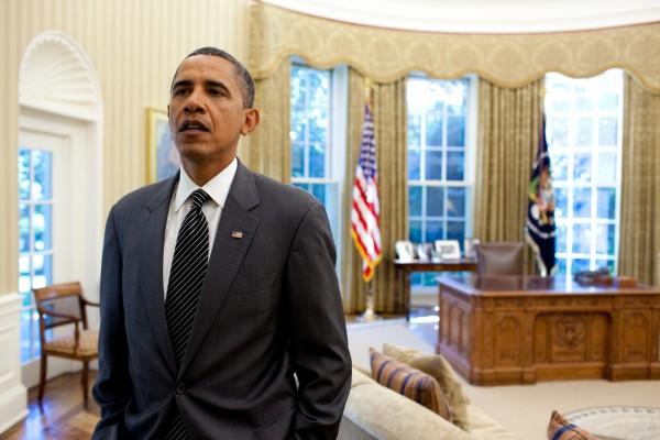 Obama i Vita Huset