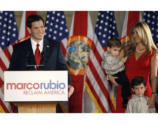 Marco Rubio segertal
