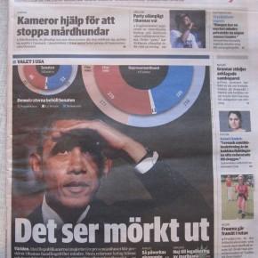 Sydsvenskan mörkar Obama.