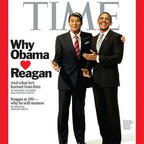 """Ronald Reagan och Barack Obama - en """"bromance""""?"""