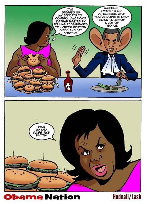 Michelle Obama enligt BigGovernment.com