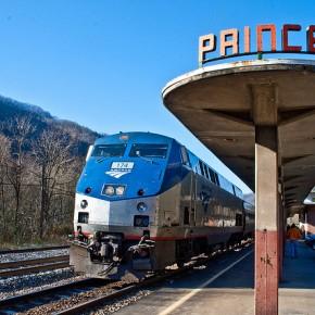 USA satsar stort på järnväg.