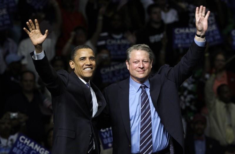 Barack Obama och Al Gore