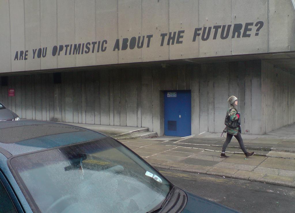 optimism och framtid