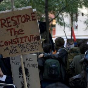 Rörelsen som ockuperar Wall Street. Vi är de 99 procenten.