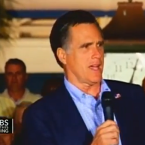 Obama sjunger soul och Romney sjunger falskt.