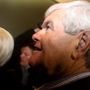 Newt Gingrich lockar arga republikaner.