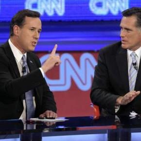 Republikanernas presidentkandidater slår rekord i negativ kampanj.