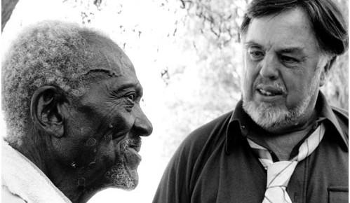 Amerikansk folkmusik har sin historia inspelad och arkiverad av Alan Lomax.