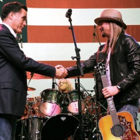 Mitt Romneys spelar Kid Rock & Toby Keith på sina kampanjmöten
