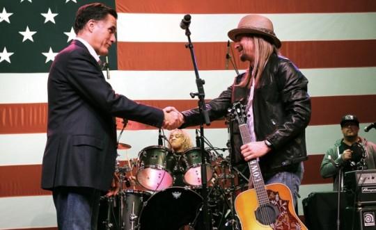 Mitt Romney och Kid Rock